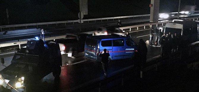 İstanbul'da Jandarma Aracına Silahlı Saldırı