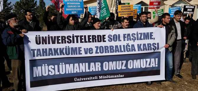 Sosyal-Faşist Saldırılar Sivas'ta Protesto Edildi