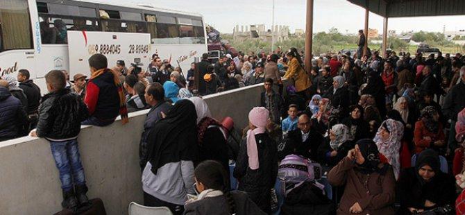 Gazze'den Mısır'a Protesto