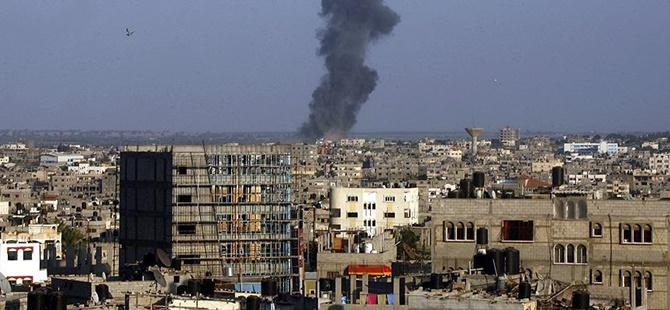 İşgalci İsrail'e Ait Savaş Uçakları Gazze'ye Saldırdı!