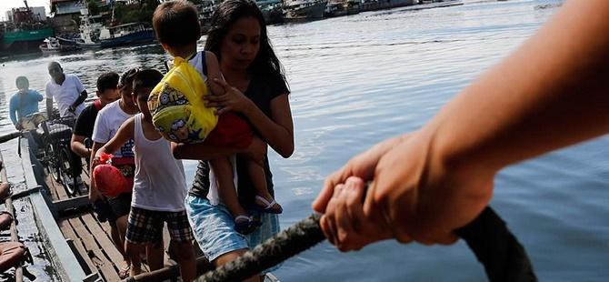"""Filipinler'de Melor Tayfunu: """"Ulusal Felaket"""" İlan Edildi"""