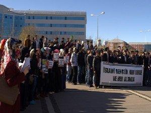 Sol Faşist Saldırılar Bingöl Üniversitesi'nde Protesto Edildi