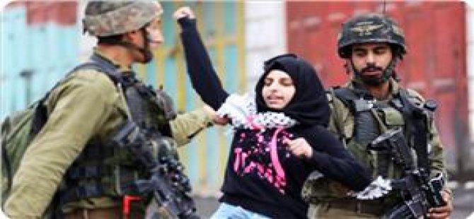 İşgalciler Kudüs'te Filistinli Genç Kızı Gözaltına Aldı