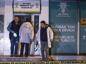 AK Parti Temsilciliğine Molotofkokteyli Atıldı!