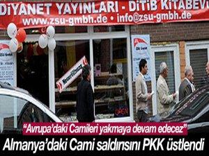 Almanya'daki Cami Saldırısını PKK Üstlendi