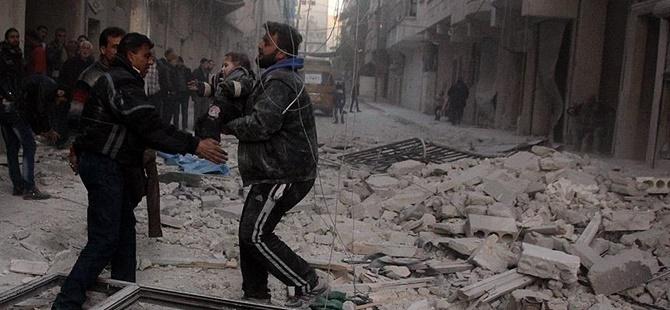 Rusya, Halep'te Yerleşim Yerlerine Saldırdı