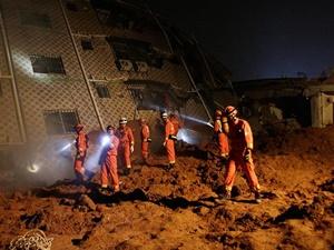 Çin'de Heyelan: 91 Kişi Kayıp
