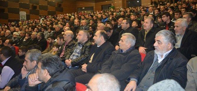"""Amasya İHH Temsilciliği'nde """"Kudüs ve Etekleri"""" Konferansı"""
