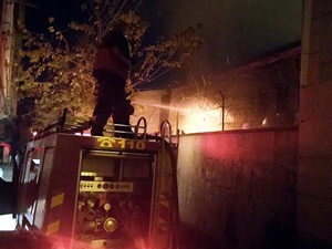 Diyarbakır'da YGD-H'liler Bir Okulu Ateşe Verdi!
