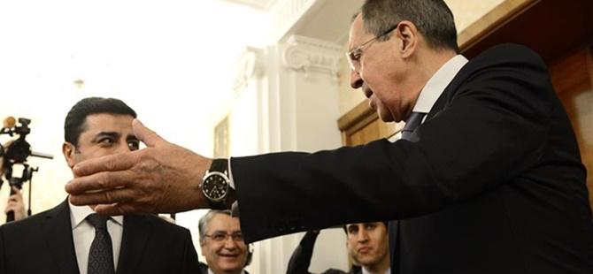 Demirtaş, Rusya Dışişleri Bakanı Lavrov ile Görüştü