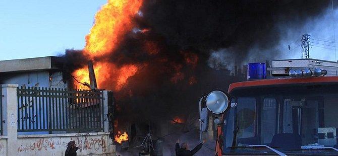 Rus Uçakları Azez'de Hastaneleri Vurdu (Foto)