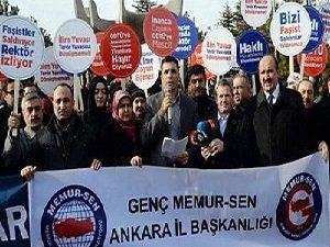 Genç Memur-Sen, ODTÜ'deki Mescid Saldırısını Protesto Etti