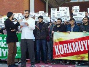 SDÜ'de Isparta'daki Sol Saldırganlık Protesto Edildi