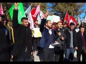 Solcu Çeteler Fırat Üniversitesi'nde Protesto Edildi