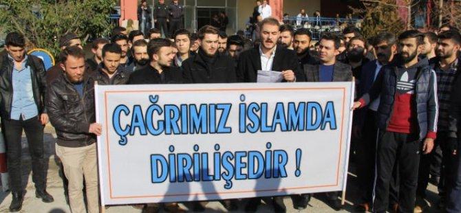 Trakya Üniversitesi'nden Sol Saldırganlığa Protesto