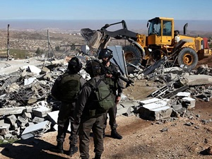 """""""İsrail 2015'te Filistin'deki 478 Ev ve Tesisi Yıktı"""""""