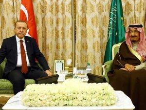 Erdoğan Suudi Kralı ile Görüştü
