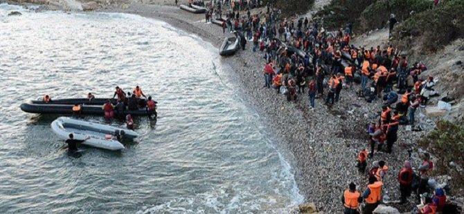 Avrupa'ya Denizden Ulaşan Sığınmacı Sayısı Bir Milyonu Aştı