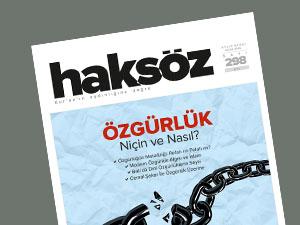 Haksöz Dergisinin Ocak 2016 Sayısı Çıktı