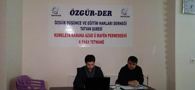 """Mehmet Turmak'tan """"Kur'an'da Melek""""  Semineri"""