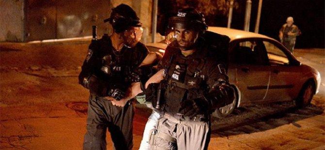 Siyonistler Batı Şeria'da 16 Filistinliyi Gözaltına Aldı