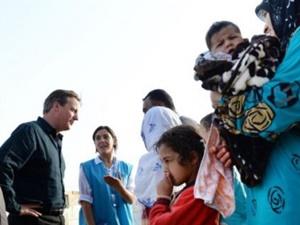"""Cameron'a Çağrı: """"3 Bin Çocuk Mülteci Alalım"""""""