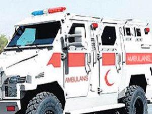 PKK Saldırılarının Sürdüğü Şehirlere Zırhlı Ambulans