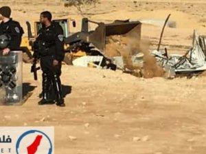 Siyonist İsrail Güçleri Negev'de Cami Yıktı!