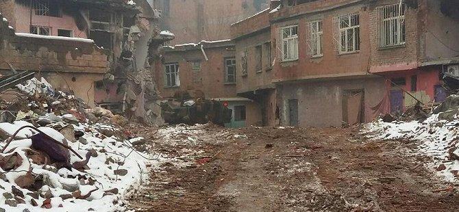 PKK'lılar Birçok Evi Kullanılamaz Hale Getirdi