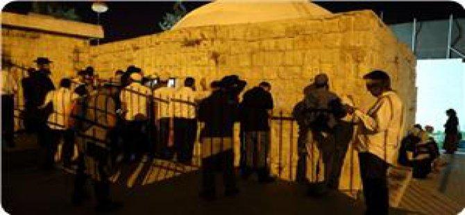 Nablus'ta Yahudi Yerleşimciler ile Filistinli Gençler Arasında Çatışma