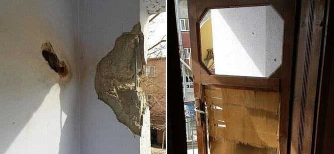 PKK'lıların Attığı Roketatar Mermisi Eve İsabet Etti!