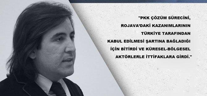 'Bölgedeki İttifaklar Geçici, Birleşik Kürdistan İmkânsız'