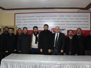 Diyarbakır'da İslami Kuruluşlardan Saadet Partisine Ziyaret