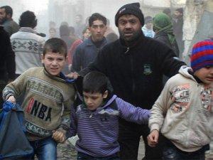 Rus Uçakları Halep'te Anaokulunu Vurdu