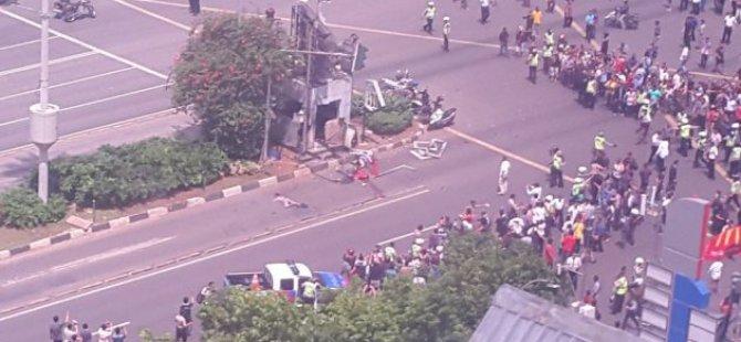 Endonezya'da 6 Eş Zamanlı Saldırı