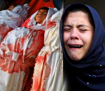 Siyonist İsrail Yine Bebekleri Katletti