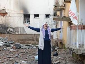 """""""Masum İnsanların Katline Yol Açan Çınar Saldırısını Lanetliyoruz!"""""""