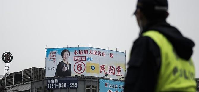 Tayvan'da Seçimin Galibi Tsai Ing-wen Oldu