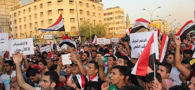 Irak'ta Yolsuzluk Karşıtı Gösteriler Düzenlendi