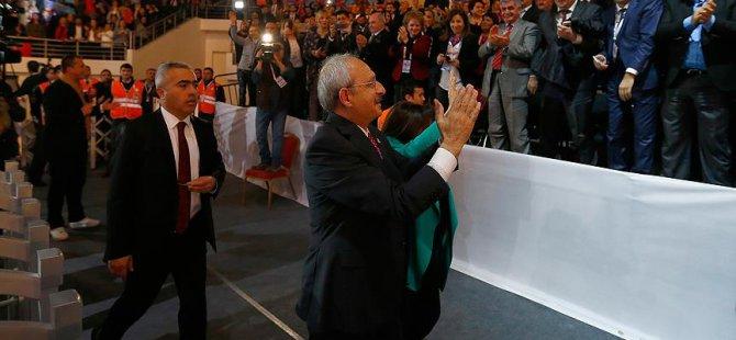 CHP Kurultay Sonuç Bildirgesi Kabul Edildi
