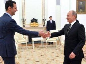 Esed, Suriye'nin Anahtarını Putin'e Peşkeş Çekti!