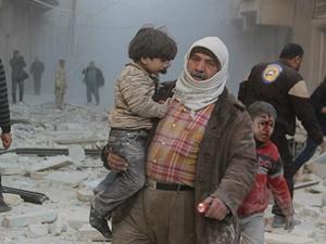 Suriye'de Rusya'nın Katlettiği Sivil Sayısı Bin 815'e Ulaştı