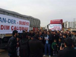İhvan-Der'den Suriye'ye 75 Tonluk Un Yardımı
