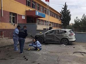 Kilis'te Okul Bahçesinde Patlama: 4 Yaralı!