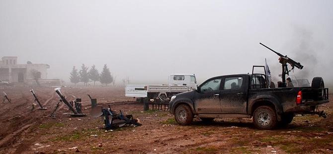 Direnişçiler Cebel Ekrad'da Bazı Köyleri Ele Geçirdi