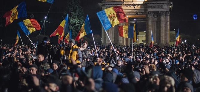 Moldova'da Hükûmet Karşıtı Gösteriler