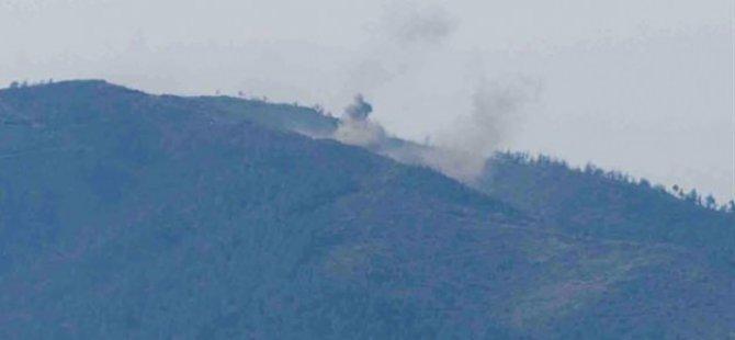 Katil Esed, Emperyalist Rus Uçaklarıyla Saldırdı!