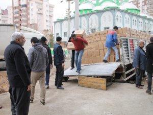 İslami Kuruluşlardan Sur Halkına 2 TIR Daha Yardım