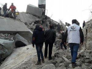Emperyalist Rusya İdlib'e Saldırdı: 7 ölü