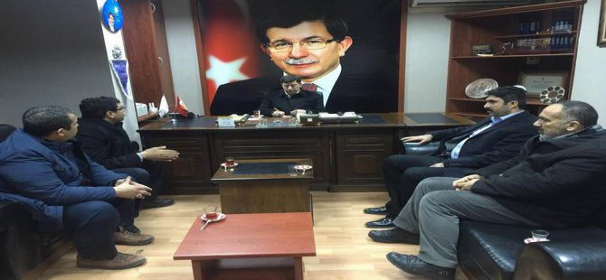 Diyarbakır İslami STK'lardan AK Parti'ye Ziyaret